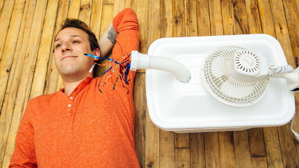 Construye tu propio aire acondicionado: en 5 pasos y por menos de 20 euros