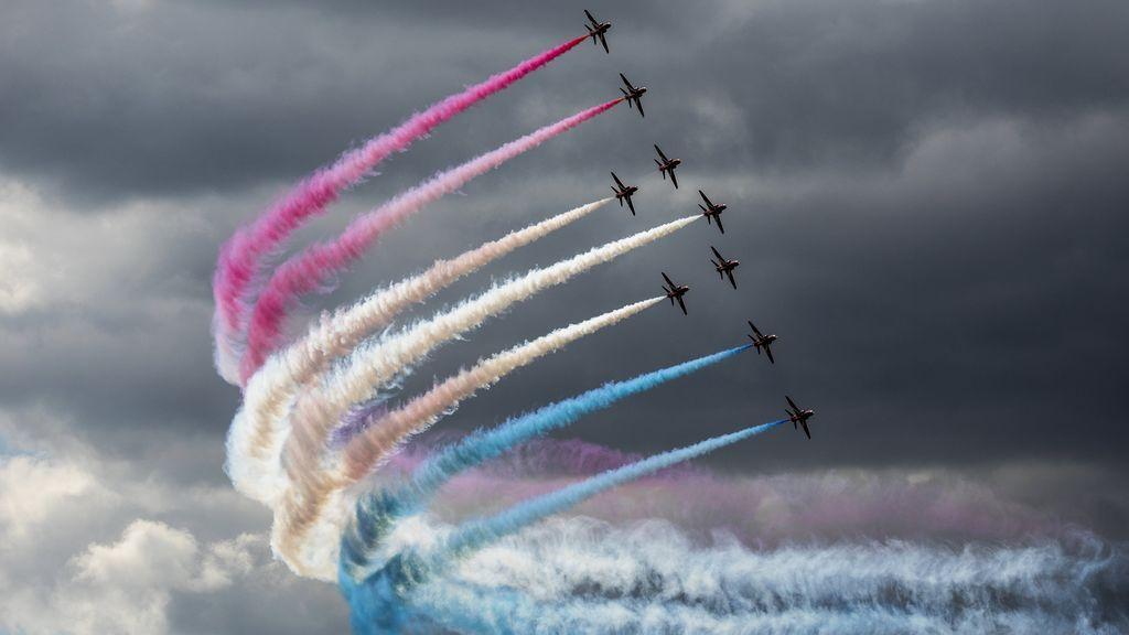 Exhibición de las Fuerzas Aéreas británicas Air Tattoo 2017
