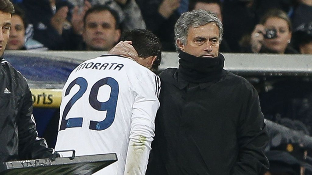 """Mourinho muestra su tristeza por no fichar a Morata: """"Le tengo un cariño especial"""""""