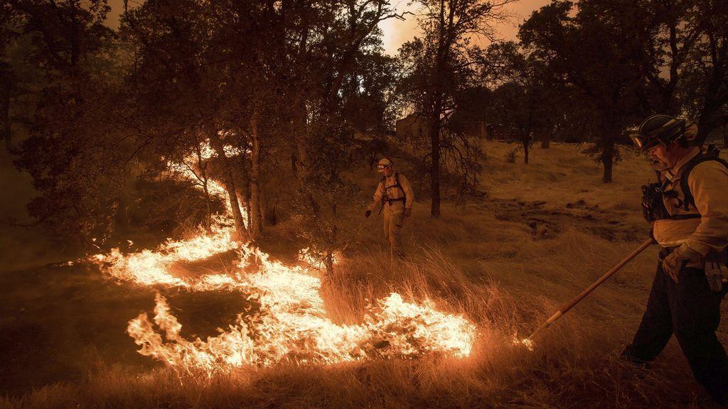 Incendio en el Condado de Mariposa