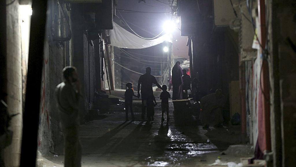 Apagón en la Franja de Gaza