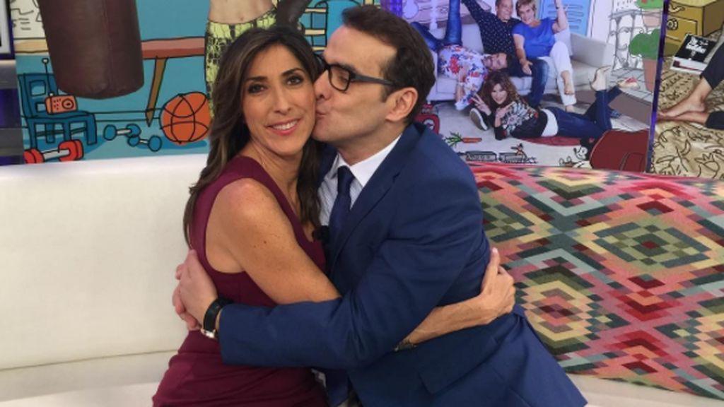 """Paz Padilla, a Luis Merlo: """"Trabajar contigo es un regalo y haberte conocido como amigo una bendición"""""""