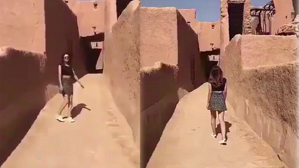 El vídeo de una joven saudí paseando en minifalda levanta polémica y podría enfrentarse a una pena de cárcel