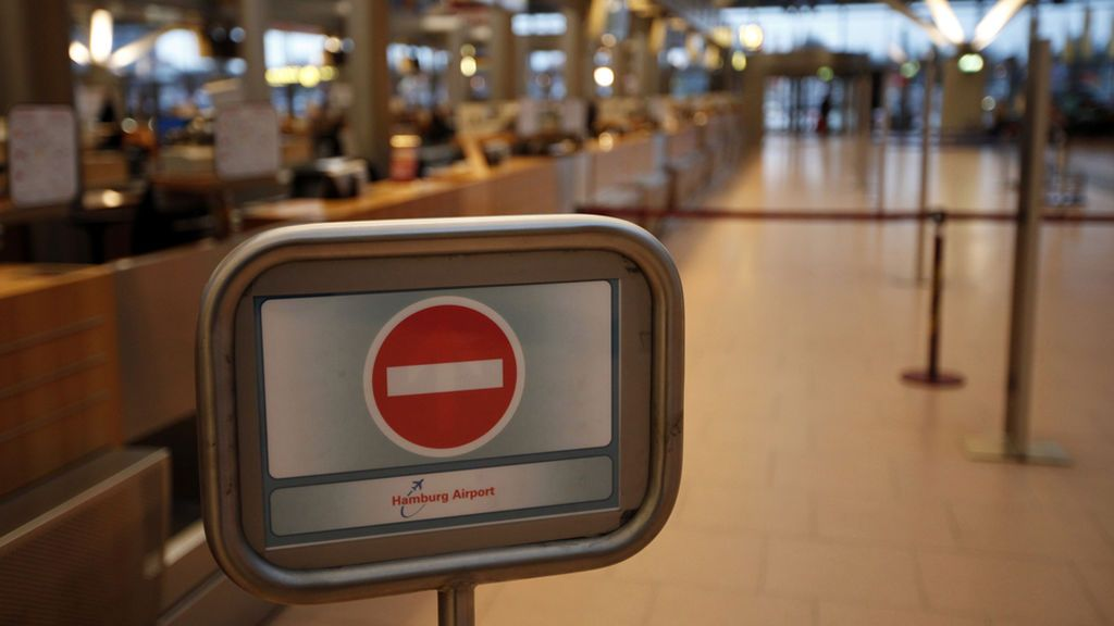 Detenido un turista en un aeropuerto alemán por no pagar 8 euros de una multa