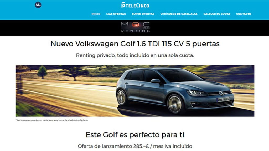 Mediaset España y ALD Automotive lanzan Más Que Coches Renting, plataforma online de vehículos de renting para particulares