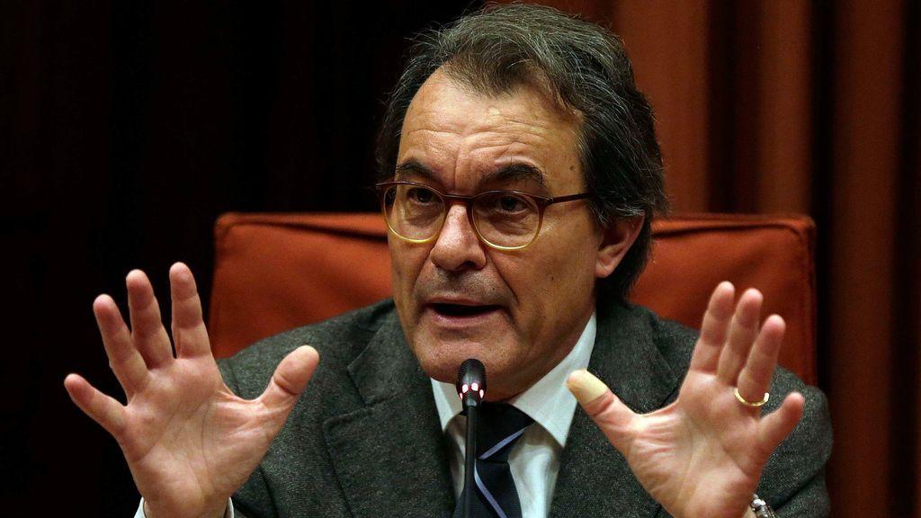 Comienza la investigación para reclamar a Artur Mas el dinero que se gastó en el 9N