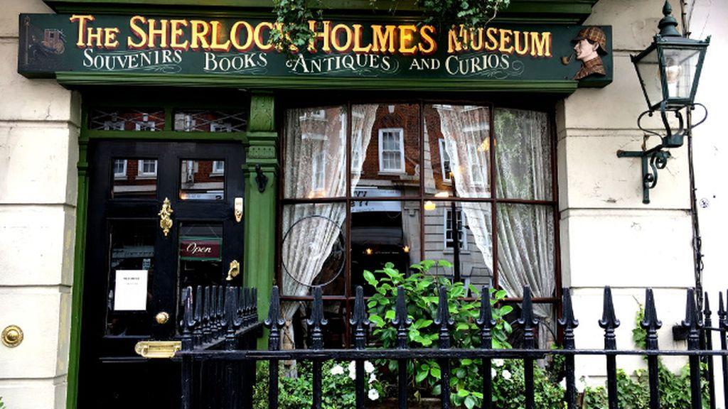 Los elementales escenarios de Sherlock Holmes en su 125 cumpleaños