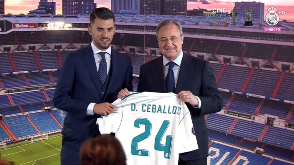 Dani Ceballos ya luce el 24 en la camiseta del Real Madrid