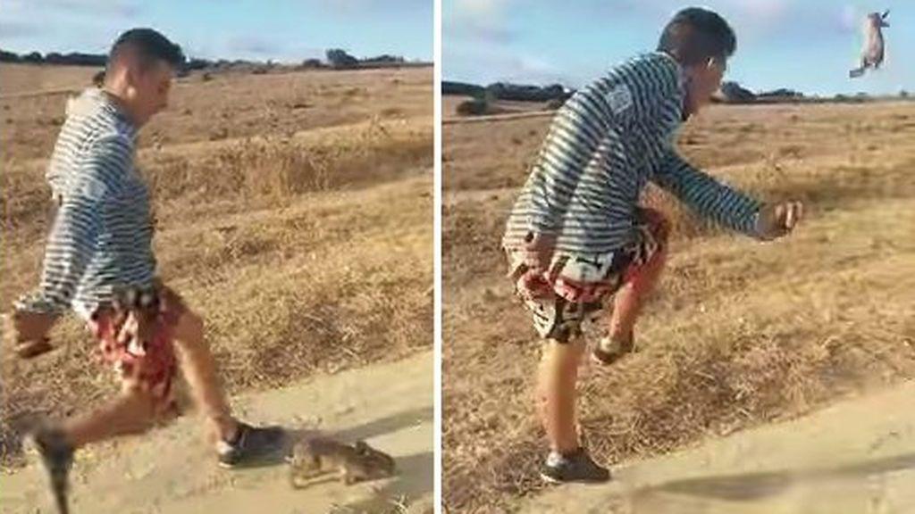 """Patea a un conejo al grito de """"¡Cristiano Ronaldo!"""" y la Policía pide ayuda en Twitter para encontrarle"""