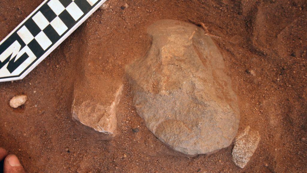 Descubrimiento arqueológico aborigen en el Parque Nacional de Kakadu, Territorio del Norte de Australia