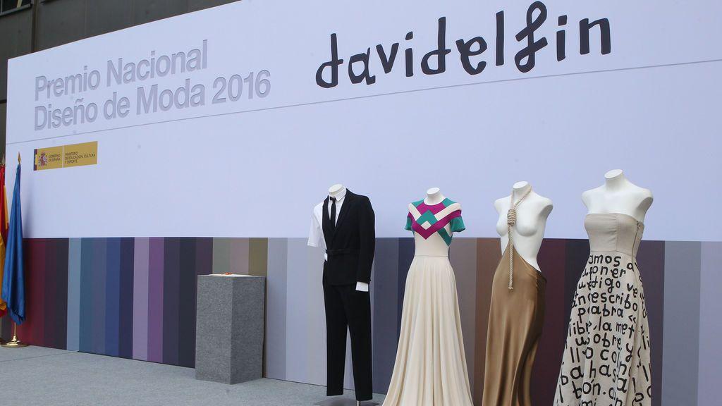 David Delfín, Premio Nacional de Diseño de Moda 2016
