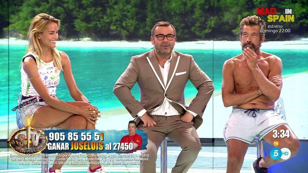 """José Luis y Alba se enfrentan al test final de 'Supervivientes': """"Me he quedado con ganas de tener sexo"""""""