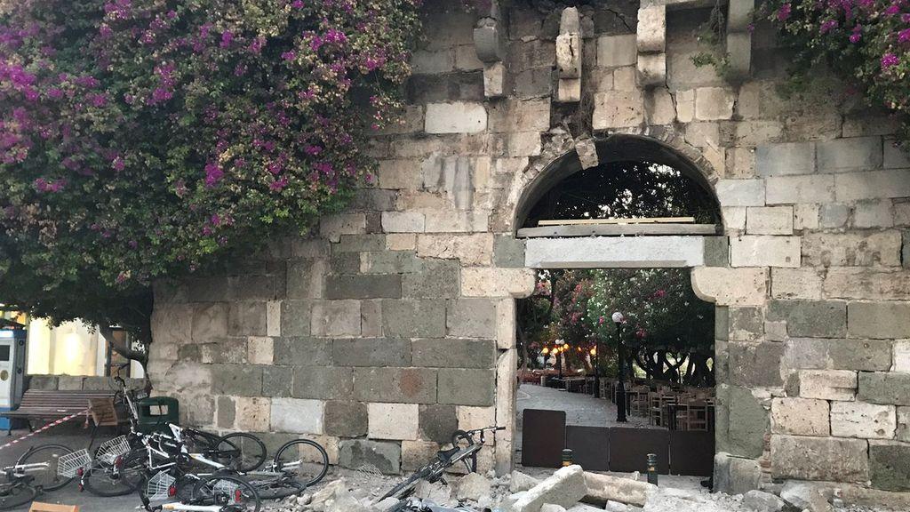 Dos turistas muertos y cientos de heridos: así se encuentra la isla griega de Kos tras sufrir un terremoto de 6'4