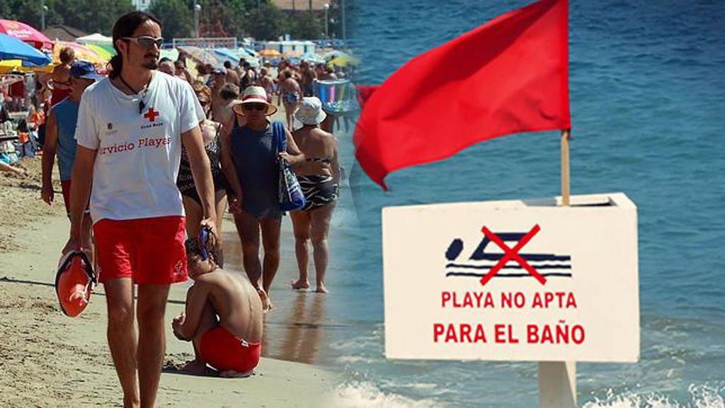 ¿Sabes lo que significan los colores de las banderas de las playas?