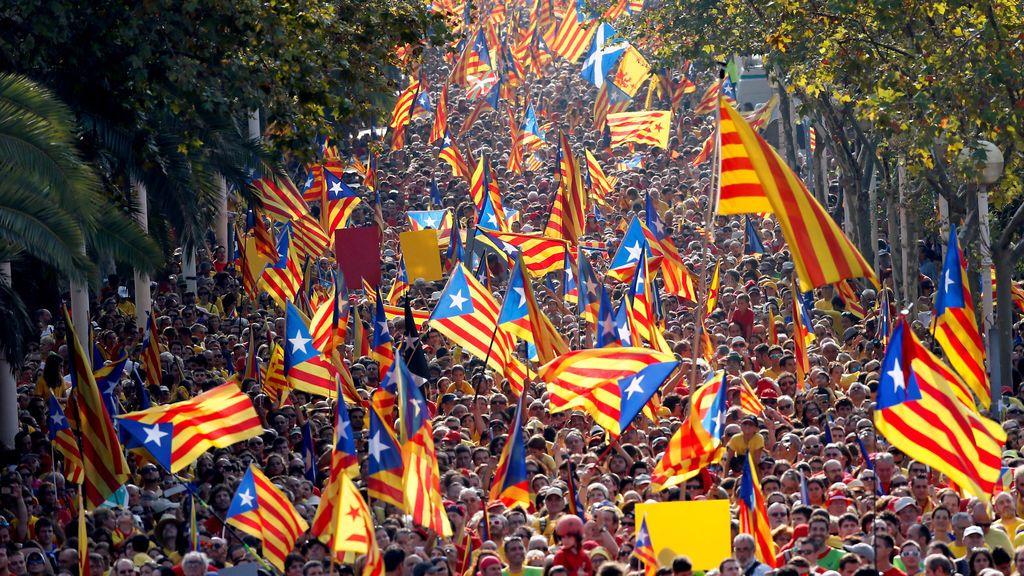 Cada vez más catalanes rechazan la independencia: 41,1 %  a favor y 49,4 % en contra