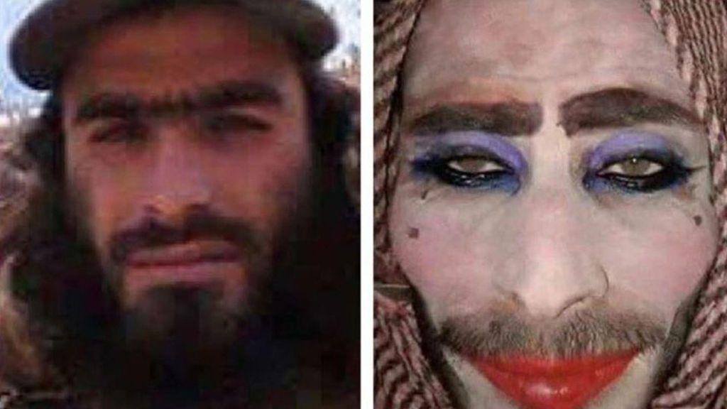 Maquillados pero con barba: así intenta huir de Mosul el Estado Islámico