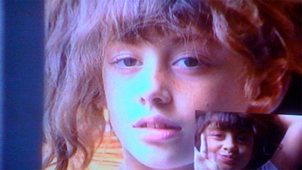 Ojazos, pelazo y carita de buena: ¿Quién era así de linda cuando era niña?