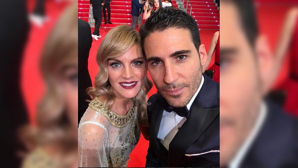 Amaia Salamanca y Miguel Ángel Silvestre recuerdan a 'Cata' y  'el Duque'