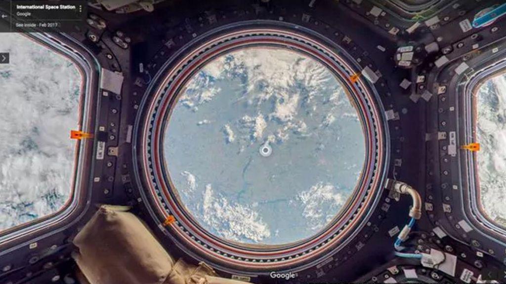 Ya puedes visitar la Estación Espacial Internacional con Google Street View
