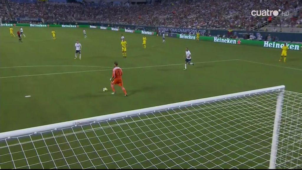 El portero del PSG regala el 1-2 al Tottenham