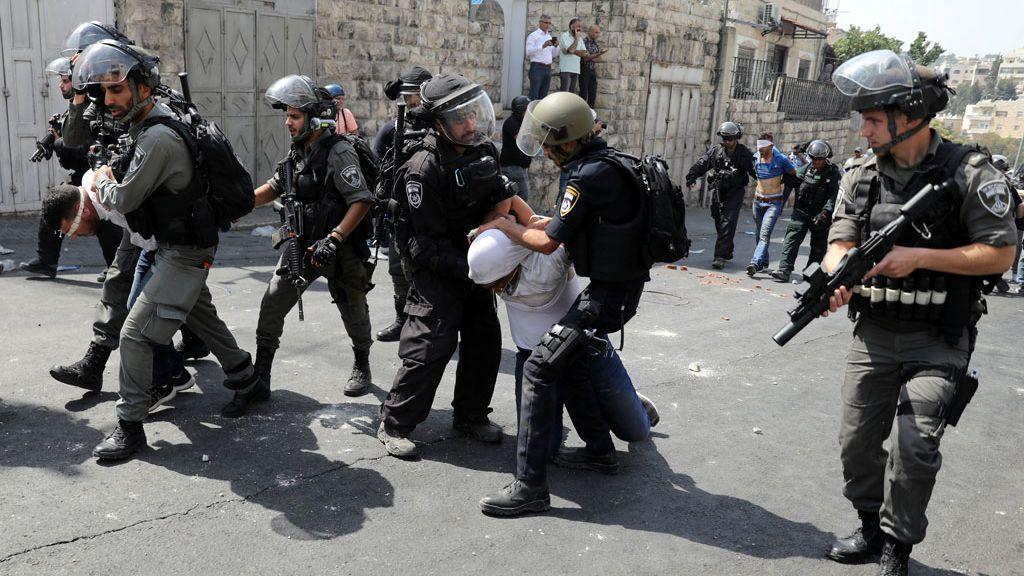 Fuerzas iraquíes detienen a varios palestinos