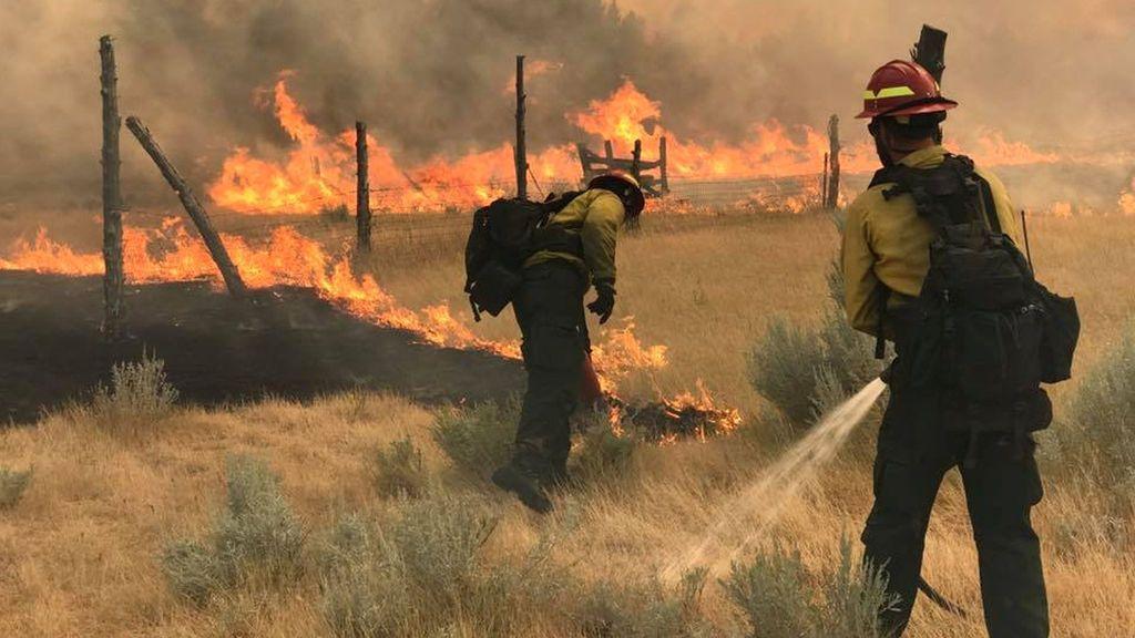 Incendio en Montana