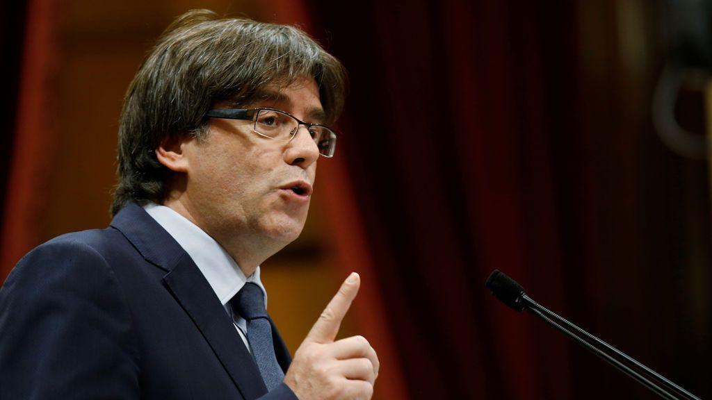 """Puigdemont se rebela: """"Si el Constitucional me inhabilita, no aceptaré esta decisión"""""""