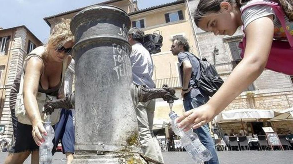 La sequía en Roma obliga a tomar medidas de restricción del agua