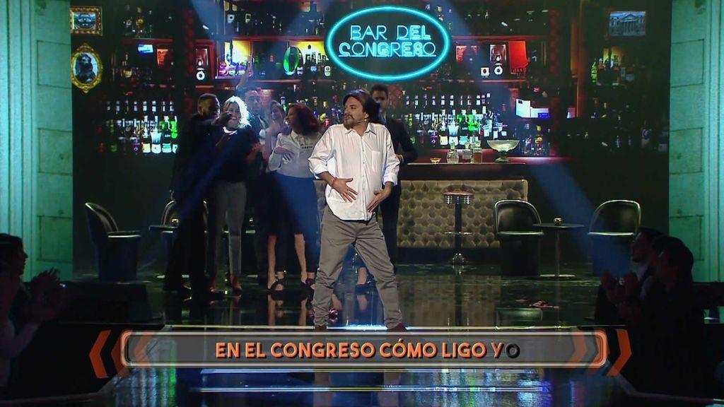¿Y si Pablo Iglesias nos diese unos truquitos para ligar en el congreso? Javi Martín se suelta la coleta