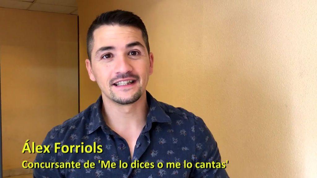 """Álex Forriols, de 'OT' y 'La Voz' a 'Me lo dices o me lo cantas': """"Me apetece hacer de mujer"""""""