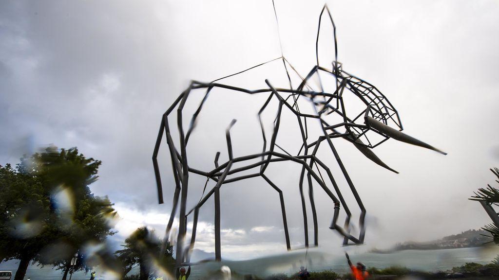 Quinta bienal de escultura de Montreux