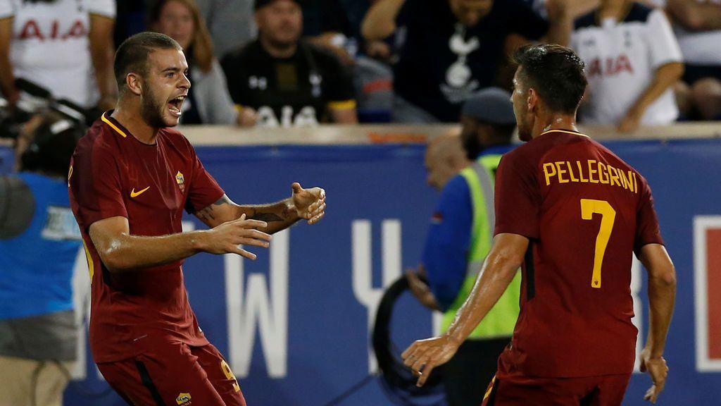 ¡Tuminnello marca el gol de la victoria de la Roma en el descuento!