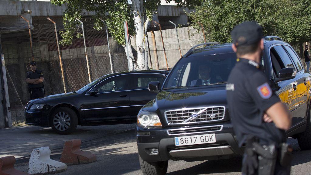 Mariano Rajoy llega a la Audiencia Nacional para comparecer por la trama Gürtel