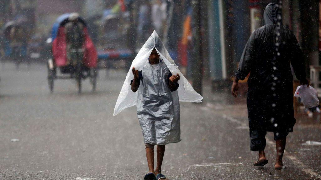 Lluvias torrenciales en Bangladesh