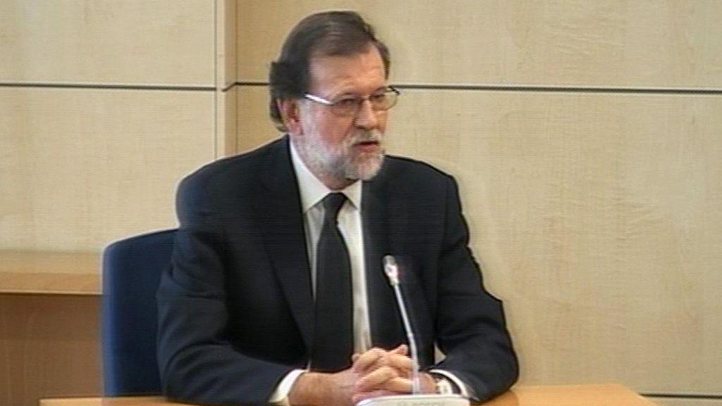 Mariano Rajoy declara por la trama Gürtel