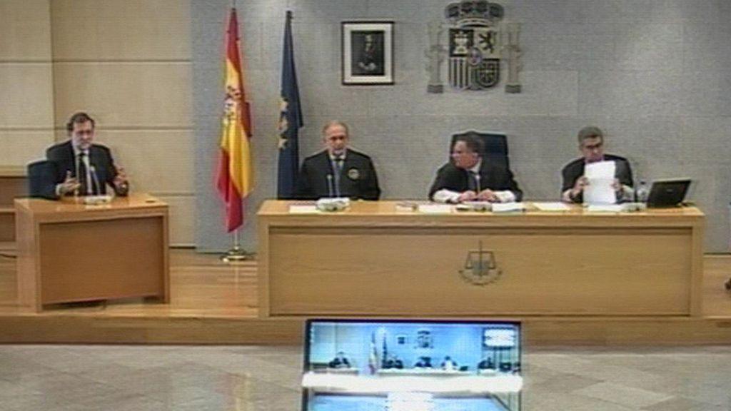 Mariano Rajoy comparece por la trama Gürtel