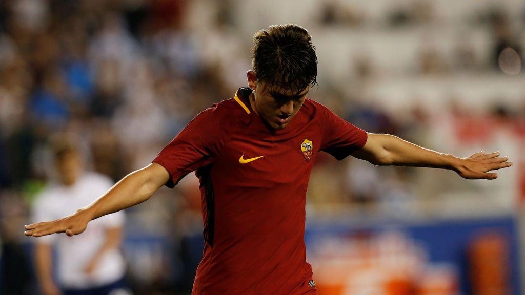 ¡Gol de Cengiz Ünder! El turco se estrena con la Roma tras un error del Tottenham