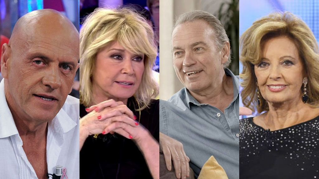 Matamoros, Mila, Bertín... ¡Los abuelos de Mediaset celebran su día!