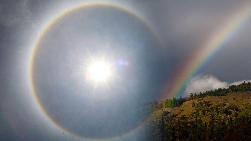 Estábamos engañados: el arcoíris es un círculo completo, no un arco