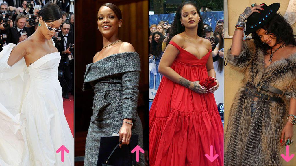 Aciertos y errores de Rihanna