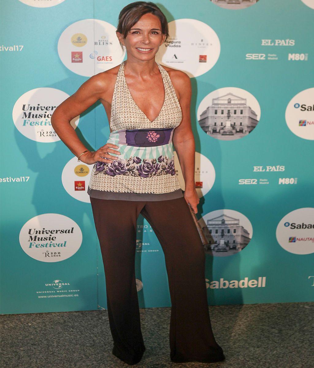 Lidia Bosch también asistió al concierto y muy bien acompañada