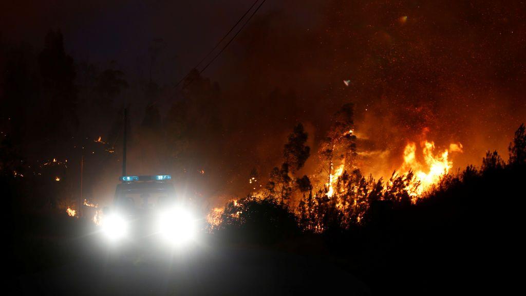 Incendio en Castelo Branco