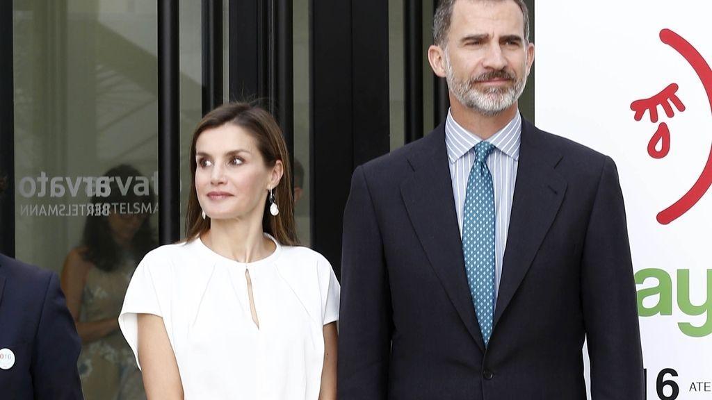 Los Reyes Felipe y Letizia se despiden de Madrid antes de poner rumbo a Mallorca