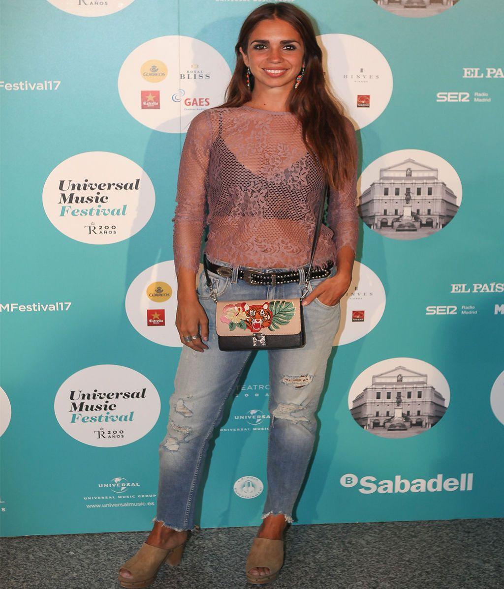 La actriz Elena Furiase tampoco faltó a la cita