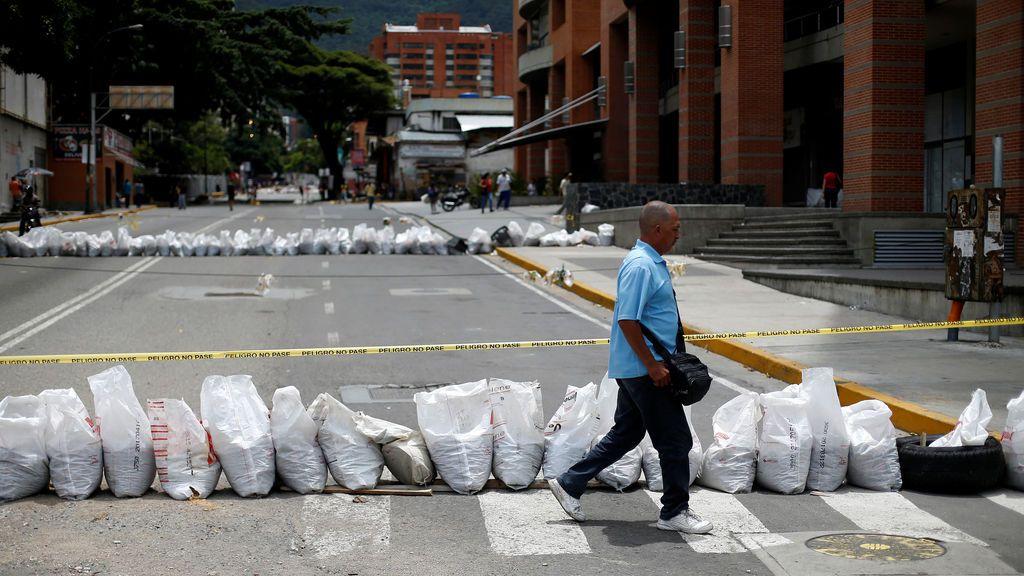 Protestas contra el presidente venezolano Nicolás Maduro