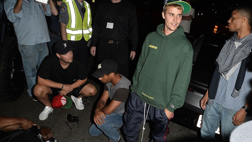 Justin Bieber paparazzi