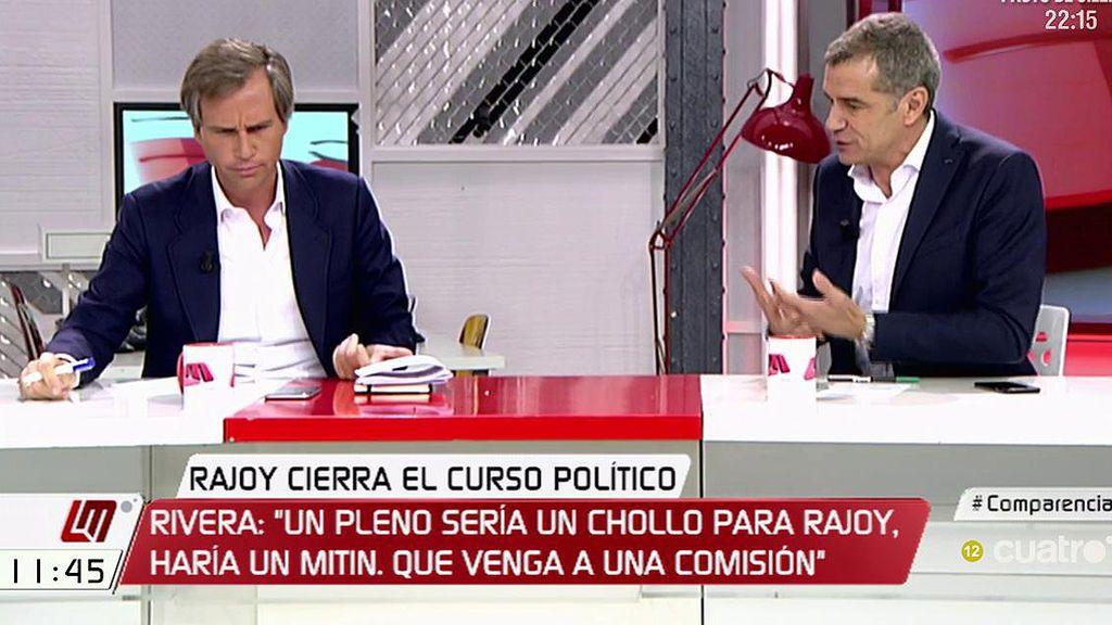 """T. Cantó: """"El formato más incómodo para Rajoy es la comisión de investigación"""""""