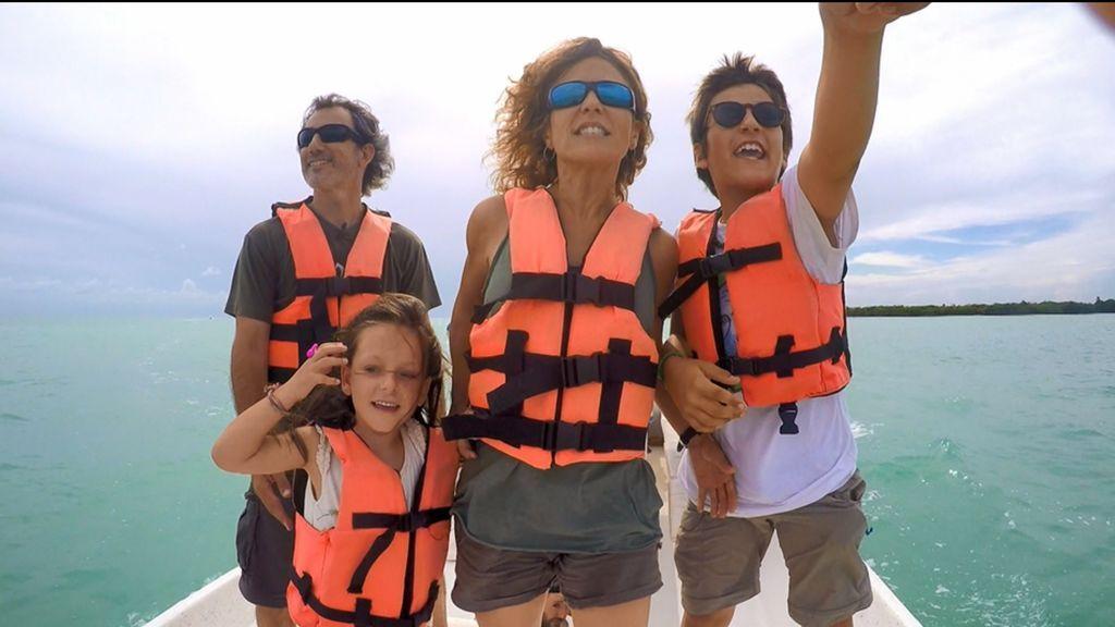 Bautismo de buceo para Unai en el Caribe mexicano, el domingo de 'Espíritu salvaje'