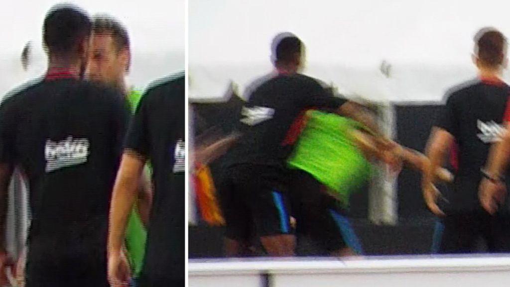 ¡Más que insultos! Neymar y Semedo se pelean en el entrenamiento del Barça