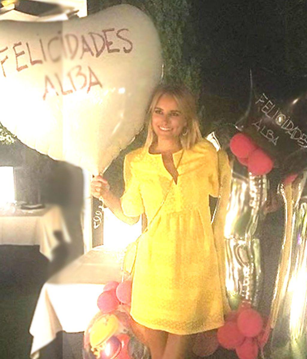 El 31 cumpleaños de Alba Carrillo, foto a foto
